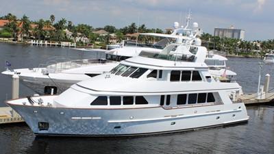 2005 Conrad Shipyard Motor Yacht Profil