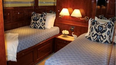 2005 Conrad Shipyard Motor Yacht Guest Cabin