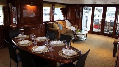 2005 Conrad Shipyard Motor Yacht Dining