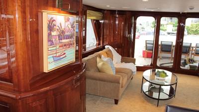 2005 Conrad Shipyard Motor Yacht Main Salon