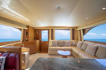 Salon - looking aft from Galley