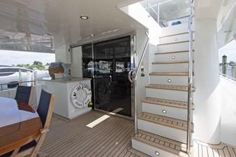 Jus Chill'n 5 Jus Chill'n 2012 CHEOY LEE Bravo Motor Yacht Yacht MLS #257233 5