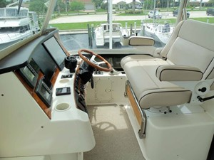 Flybridge Helm Area