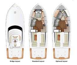 Flybridge, Accommodation Option  #1 and Accommodation Option  #2