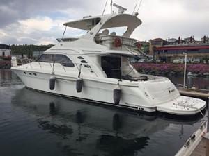 56' Sea Ray 560 Sedan Bridge 1 56' Sea Ray 560 Sedan Bridge 2002 SEA RAY  Cruising Yacht Yacht MLS #257832 1
