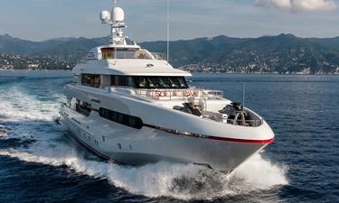 Running Bow: ATOM 147' 2014/2019 Sunrise Tri-Deck Motor Yacht