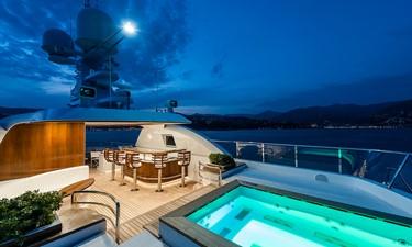 Jacuzzi: ATOM 147' 2014/2019 Sunrise Tri-Deck Motor Yacht