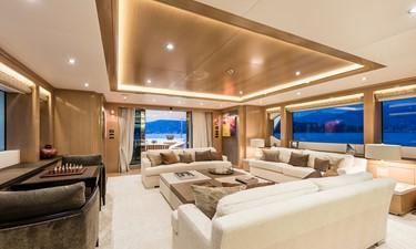 Main Salon: ATOM 147' 2014/2019 Sunrise Tri-Deck Motor Yacht