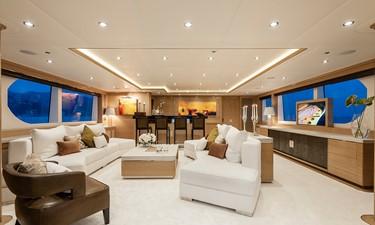 Sky Lounge: ATOM 147' 2014/2019 Sunrise Tri-Deck Motor Yacht
