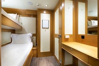 Crew Cabin: ATOM 147' 2014/2019 Sunrise Tri-Deck Motor Yacht
