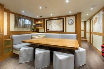 Crew Mess: ATOM 147' 2014/2019 Sunrise Tri-Deck Motor Yacht
