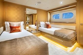 Guest Twin: ATOM 147' 2014/2019 Sunrise Tri-Deck Motor Yacht