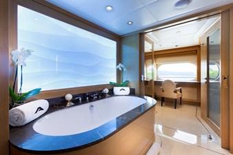 Master Bath: ATOM 147' 2014/2019 Sunrise Tri-Deck Motor Yacht