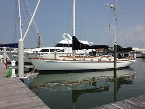 50' Shannon at the dock