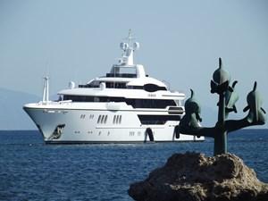 Irimari 1 Irimari at anchor