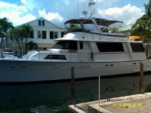 68' Hatteras Cockpit Motor Yacht 258222