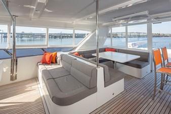 Enclosed Flybridge Seating