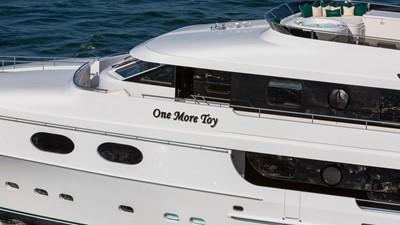 EXTERIOR DECK DETAIL: ONE MORE TOY 155' 2001/2018 Christensen Tri-Deck Motor Yacht