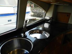 Galley Window, Double Sinks