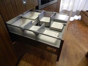 Galley Open Drawer