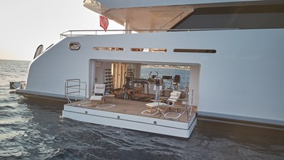 Gym from outboard