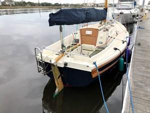 Cornish crabber stern