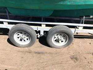 matching dual-axle trailer