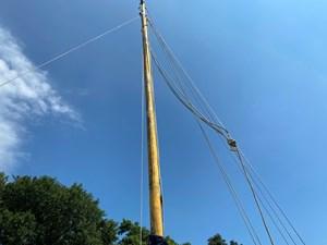 Cornish Crabbers Crabber 22 mast