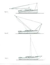 2005 Cornish Crabber Lowering the Mast