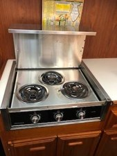 #24 3-burner Galley Stove