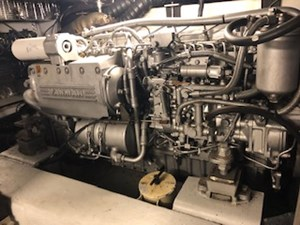 #43 Port Yanmar Engine side view