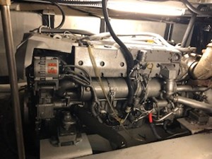 #44 Starboard Yanmar Engine side view