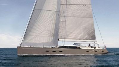 Swan105 sailing