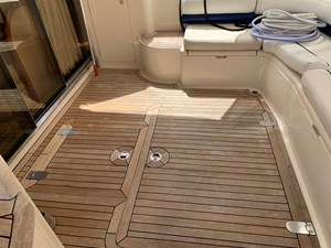 Current Affair 38 Aft deck to starboard