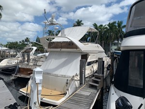 Current Affair 52 Stern profile starboard