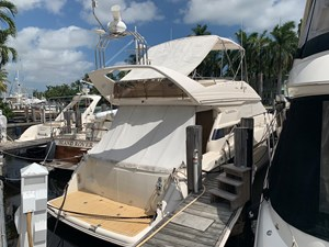 Current Affair 53 Stern profile starboard