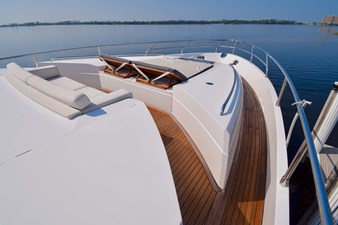 Foredeck Sunlounge with Backrest