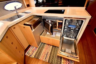 Galley with Oven and Dishwasher