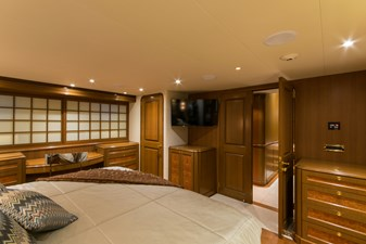 Master Stateroom, forward view