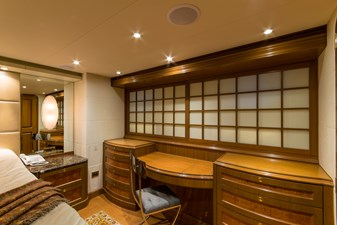 Master Stateroom, vanity -dresser