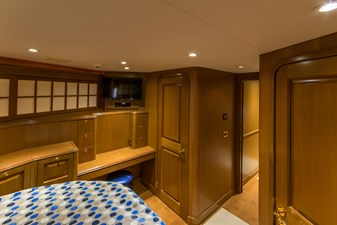 VIP Stateroom, view aft