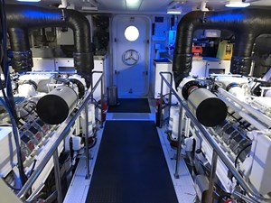 Engine Room, looking aft
