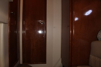 VIP doors to head, locker and companionway