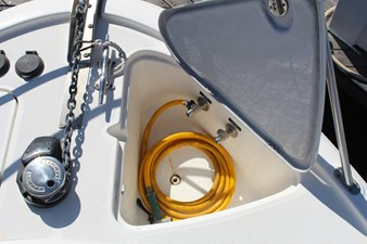 Foredeck salt & fresh water bibbs