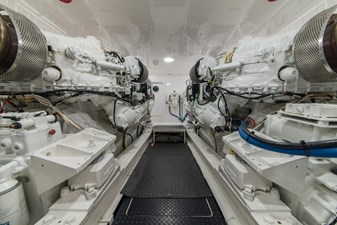 MIRAGE 57 Engine Room