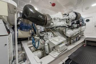 MIRAGE 58 Engine Room