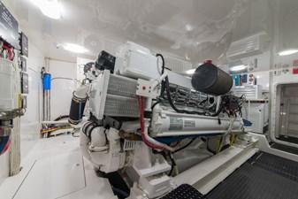 MIRAGE 61 Engine Room