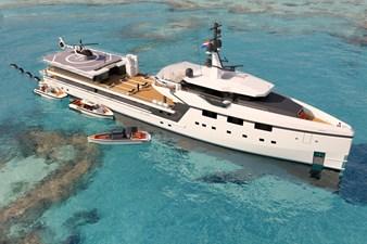 DAMEN Yacht Support YS 7512 multipurpose configuration tropical