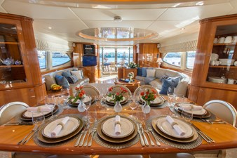 7. Dining Salon looking Aft
