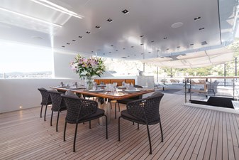 Sundeck Dining Area